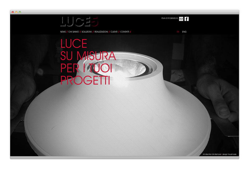 Luce5 website