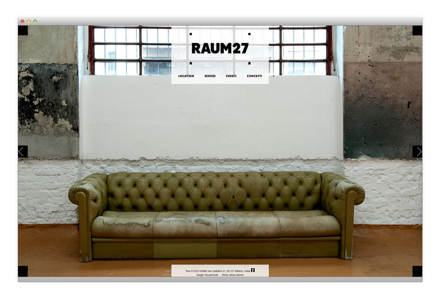 Raum27 website