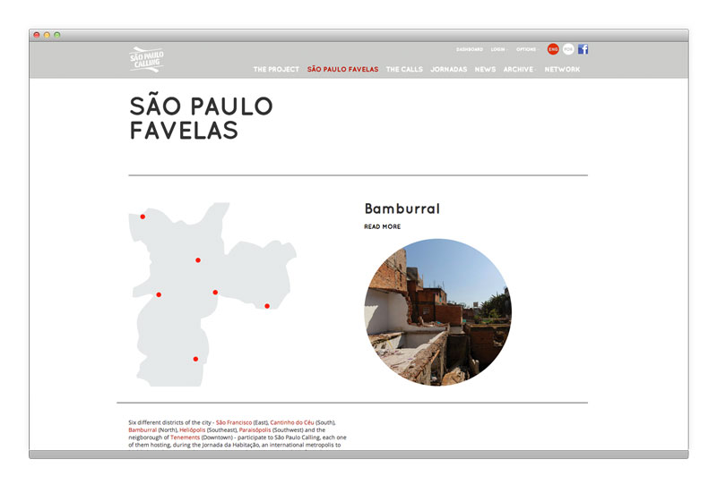 San Paolo Calling website